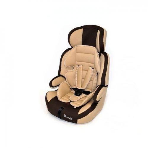Автокресло Teddy Bear LB 515 RF 1/2/3 55 beige/brown с вкладышем