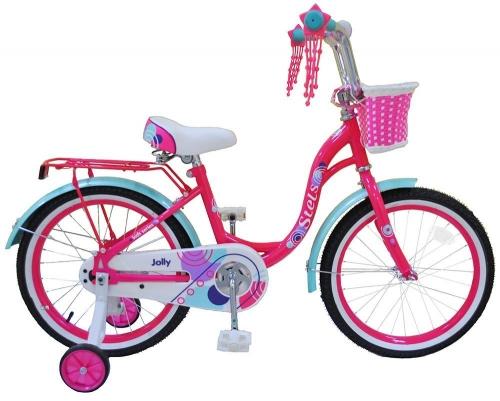 Велосипед Stels Jolly, розовый/голубой, рама 18