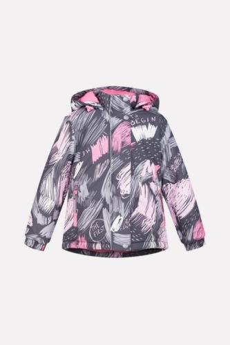 Куртка для девочки Crockid ВК 38033/н/1 ГР размер 98-104