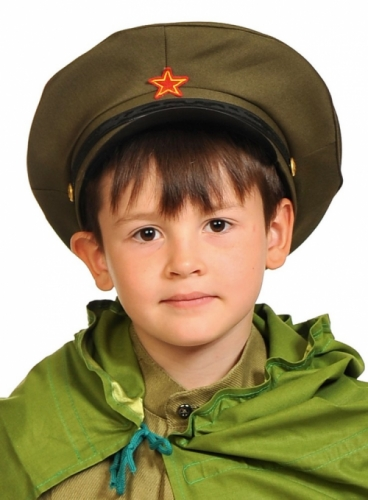 Фуражка Командира карнавальная детская