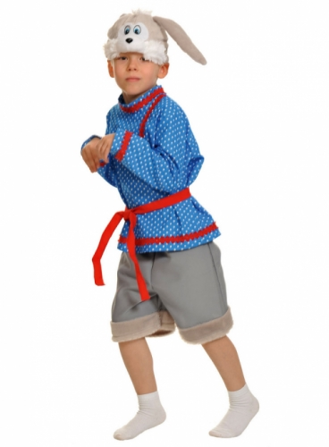 Карнавальный костюм Зайчик-Побегайчик, ХXS, 3-4 года