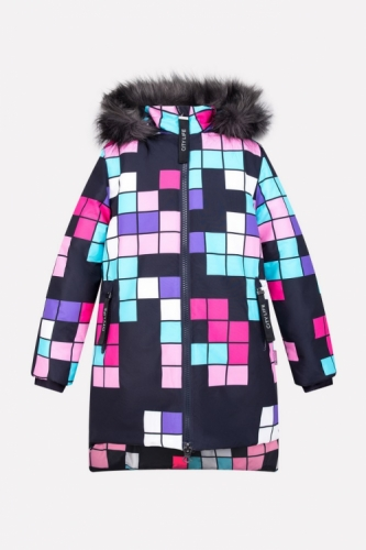 Куртка для девочки Crockid ВКБ 38037/н/1 ГР размер 152-158