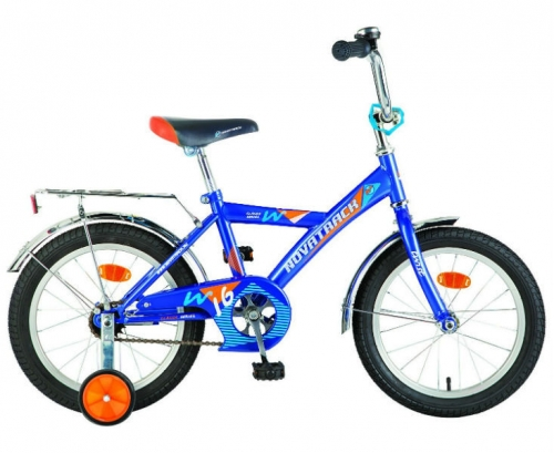 Велосипед Novatrack Twist, синий, рама 16