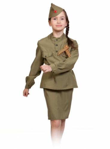 Карнавальный костюм Солдаточка, 3-5 лет