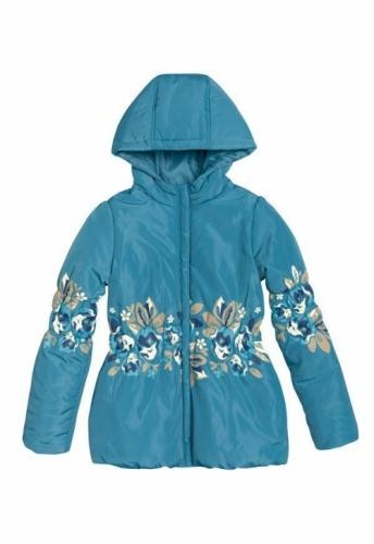 Куртка для девочек, размер 7, весна-осень, синяя Pelican GZWL483