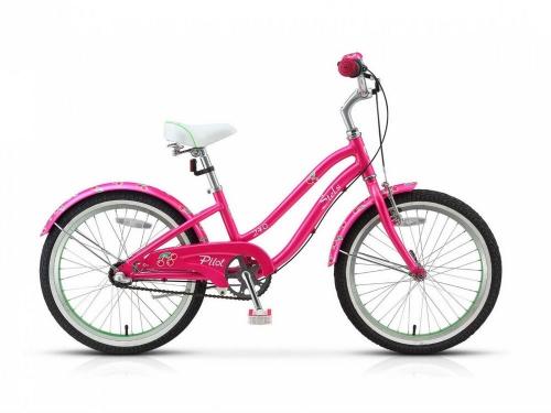 Велосипед Stels Pilot-240 Lady 3-sp, розовый/салатовый, рама 20