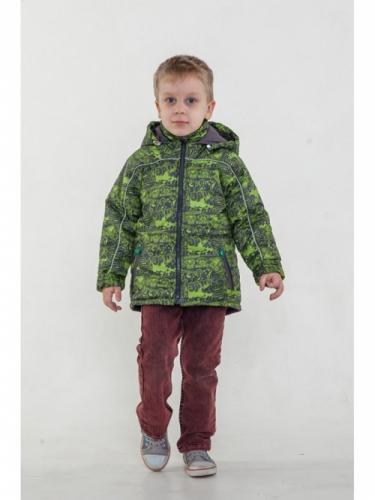 Куртка для мальчиков, размер 32, весна-осень, салатовая Modus L, Деми