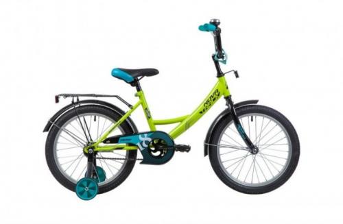 Велосипед Novatrack Vector, салатовый, рама 18