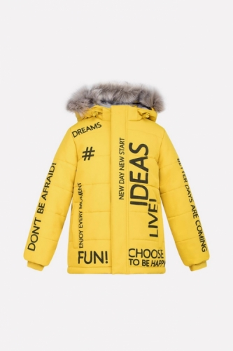 Куртка для мальчика Crockid ВК 36040/1 ГР размер 98-104