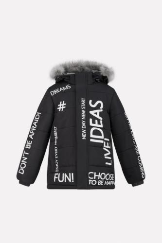 Куртка для мальчика Crockid ВК 36040/3 ГР размер 98-104