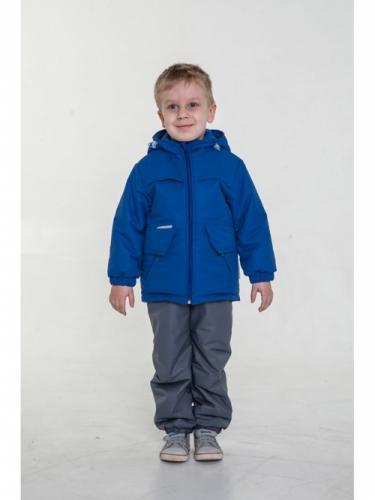 Куртка для мальчиков, размер 26, демисезонная, синяя Modus L, мембрана 3k/3k