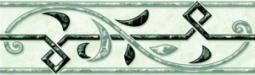 Бордюр Нефрит-керамика Алтай 05-01-1-62-00-82-020-0 20x6 Зелёный