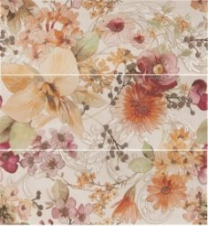 Панно Estima Felicita decor flowers 25.3x70.6