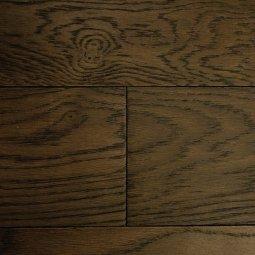 Массивная доска Antique Дуб Кофе Структур 18х125х300-1200 Ф1,0х4 лак (1,008)
