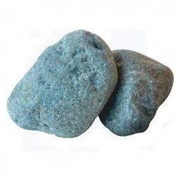 Камень для бани Атлант Камень Родингит галтованный в коробке 20 кг