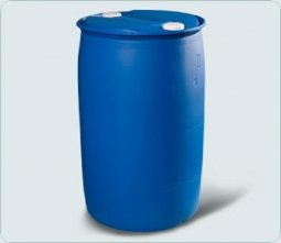 Бочка Тара пластиковая с пробками синяя L-R (7.2) 227 литров
