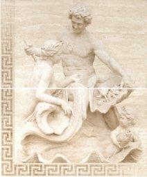Панно Cracia Ceramica Itaka Beige Panno 02 50x60