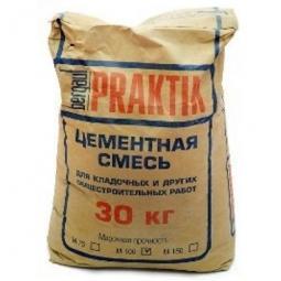 Кладочная смесь смесь Bergauf Praktik М-100 цементная 30 кг