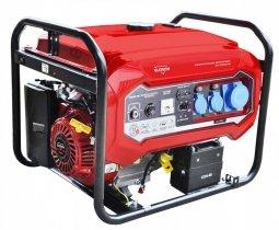 Генератор бензиновый Elitech БЭС 6500 ЕАМ 5000/5500 Вт ручной/электрический запуск