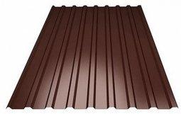 Профнастил С-8 (RAL 8017) коричневый шоколад 1200х2000х0.5