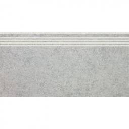 Ступень Kerama Marazzi Фудзи SG601900R\GR 30х60 светло-серый обрезной