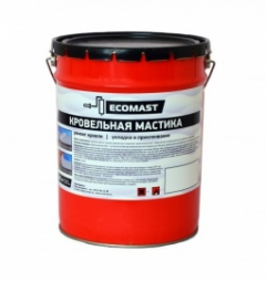 Мастика кровельная Ecomast металлическое ведро 5 л