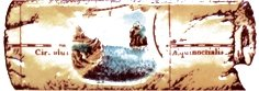 Бордюр Сокол Остров сокровищ орнамент матовый 622-3 7х20