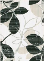 Декор Береза-керамика Ретро черный 25х35