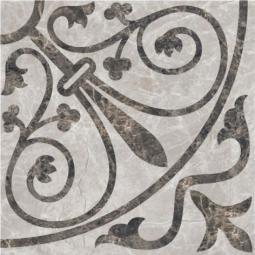 Плитка для пола Керамин Эллада 7П тип 1 Серый 40x40