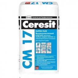 Клей Ceresit СМ17 высокоэластичный для керамической плитки 5 кг