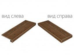 Ступень угловая правая Italon NL-Wood Пэппер 33x90 натуральная