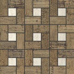 Мозаика Kerranova Timber структурированный эвкалипт 30x30