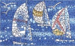 Декор Сокол Гауди D-701 орнамент глянцевый 33х20
