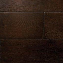 Массивная доска Cezar Дуб Шоколад Структур 18х150х300-1200 Ф0,5х4 лак