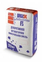 Штукатурка Brozex Короед FS 3002 декоративная белая 25 кг