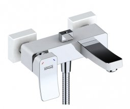 Смеситель для ванны Wasser Kraft Aller 1061 White