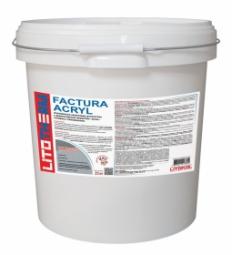 Штукатурка Litokol Litotherm Factura Acryl  Шуба декоративная акриловая 1,5 мм Пастельные Тона