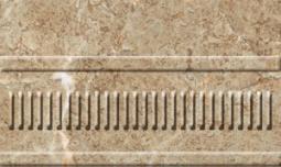 Бордюр Нефрит-керамика Грато 13-01-1-23-42-23-420-1 25x15 Бежевый