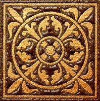 Декор Freelite Универсальные вставки для пола Марсель Шоколад 6x6