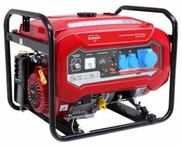 Генератор бензиновый Elitech БЭС 8000 РМ 6000/6500 Вт ручной запуск