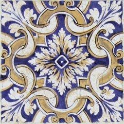 Вставка Сокол Майолика D709a орнамент матовая 16.5х16.5
