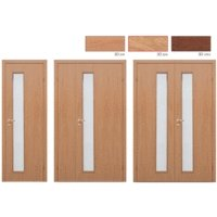 Дверное полотно Olovi L3 3D ламинат Бук М7х21