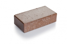 Брусчатка клинкерная «Шоколад флеш» «Тоффи» 100х200х55