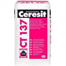 Штукатурка Ceresit СТ137 Зима декоративная минеральная камешковая 1,0 мм