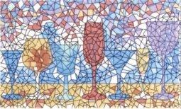 Декор Сокол Гауди D-698 орнамент глянцевый 33х20