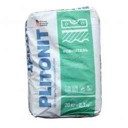Ровнитель для пола Plitonit Universal на минеральной основе 20 кг
