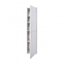 Шкаф-колонна Акватон Рико Белый/Ясень фабрик