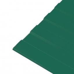Профнастил С-8 (RAL 6005) зеленый мох 1200х2000х0.45