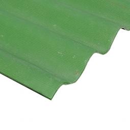 Шифер кровельный 7-волновой 1750х980х5.2мм, зеленый