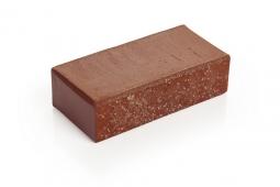 Брусчатка клинкерная Красная «Бордо» 100х200х52